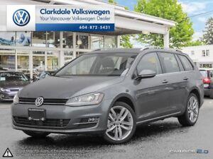 2017 Volkswagen Golf SportWagen 4dr DSG 1.8 TSI Highline 4MOTION