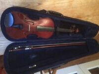 3/4 Violin for sale suit younger person aged 8 - 11 years old £65 .o.n.o