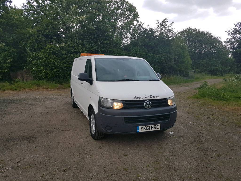VW Transporter Long Wheelbase Perfect For Camper Van Conversion Full Service History