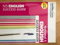 National 5 English Study Books Including How to Pass