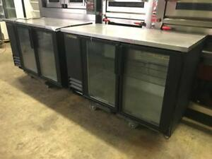 2 matching true double door glass beer fridges only $1595 each ( up 60% off ! )