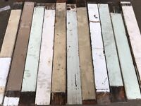 Rustic Painted Pitch Pine Panelling - 100 m2 in stock!