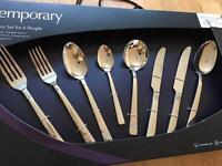 Arthur price 44 piece cutlery set brand new