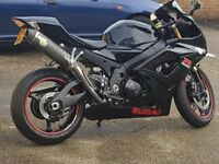 SUZUKI GSXR 1000 K6 LOW MILES, SERVICE HISTORY ,GOOD CONDITION