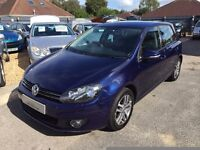 2010/10 VOLKSWAGEN GOLF 1.6TDI BLUE MOTION 1.6 £20 PER YEAR TAX,VERY HIGH SPEC,LOOKS & DRIVES WELL