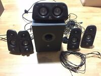 LOGITECH Z506 5.1 surround speakers