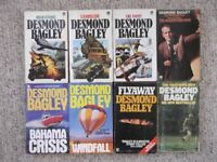 8 crime thrillers by Desmond Bagley - over 2000 pages