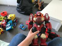 Toys action figure dinotrux