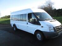 Ford Transit minibus 17 seats / seater Clean NO VAT