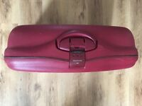 Samsonite Red Suitcase - Hard shell