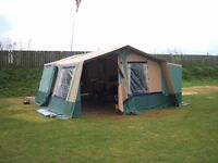 TRIGANO CHANTILLY GL TRAILER TENT PLUS ACCESSORIES.