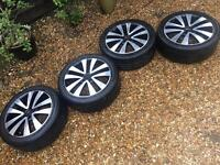 VW Golf MK6 GTD Alloy Wheels 5x112 17in