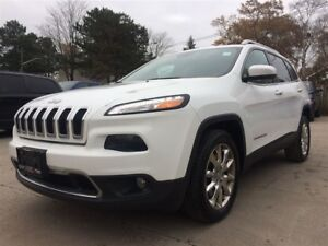 2014 Jeep Cherokee Limited**NAV**HTD SEATS**BACK-UP CAM**
