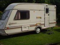 2 berth swift touring caravan