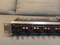 'Behringer Powerplay PRO-8 HA8000' eight channel headphone amp.