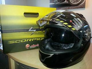 Special offer - scorpion exo-air helmet round up - was £319.99!!