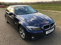 BMW 3 Series 320d EfficientDynamics 4dr, 3 Months Warranty,F S History,1 Year MOT,1 P Owner.