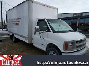 1999 Chevrolet C/K 3500 16' Cube Duelly