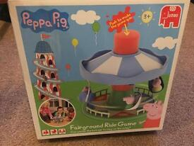 Peppa Pig Fairground ride and park