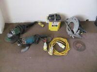 makita circular saw angle grinder hitachi grinder 110v transformer power tools