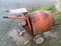 Cement Mixer, Belle 140 Mixer