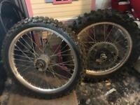 Motorbike Wheels MX 125 or 250
