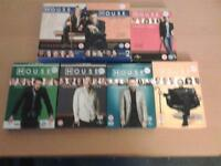 House series 1 to 7 in excellent condition