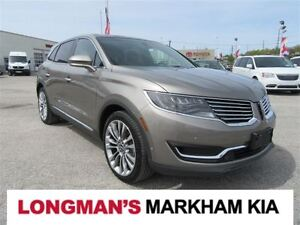 2016 Lincoln MKX Reserve 2.7L One Owner Loaded
