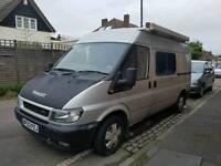 Ford Transit mwb camper. Spares or Repair