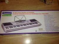 Burswood 61 key electronic keyboard