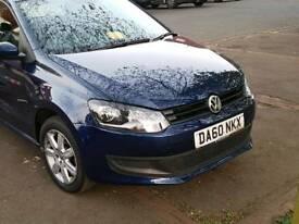 vw polo blue 1.2