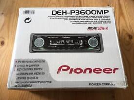 Pioneer DEH-P3600MP Car Head Unit