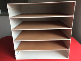 ikea open fronted filing cabinet/shelving