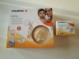 Medela Swing Single Electric Breastpump with Calma