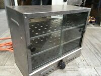 LPG GAS PIE CABINET WARMER CATERING COMMERCIAL KITCHEN FAST FOOD OUTDOOR KITCHEN