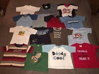 Large boys clothes bundle, age 12-18 months, 70 items