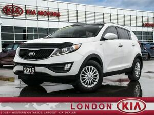 2015 Kia Sportage EX Luxury w/Navigation & Winter Tires!