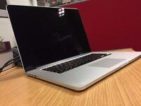 MacBook Pro 15 inch, Mid 2015 model , intel core i7, 512GB SSD , 16GB RAM, AMD R9 M370x GPU