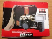 New Olympia EL1124 Focus Free 35mm Red Eye Reduction Flash Advanced Camera - Fully Working, Unopened