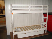 Josie Shorty Bunk Bed Frame - White + FREE DRAWER (Please call - Michal 07851770393)
