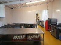 COMMERCIAL KITCHEN SPACE FOR HIRE