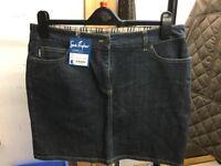 Burberry Pencil Skirt Denim Size 10