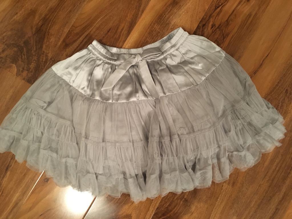 Next silver/grey tutu style skirt, nearly new