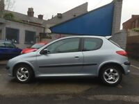 Peugeot Alloy Wheels with nearly new tyres all Round Bargain £50