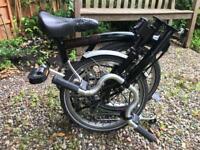 Brompton M3L folding bike - good condition!
