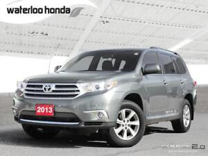 2013 Toyota Highlander 7 Passenger, Automatic, A/C and More!