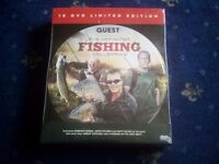 The definative fishing collection.set of 10 dvds featuring Robson Green,John Wilson and Matt Hayes