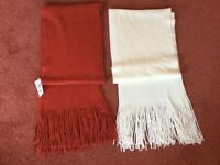 Beautiful, Very Soft and Warm Marks and Spencer Scarves - New with Tags £5 each or 2 for £9
