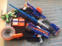 Nerf guns & vest