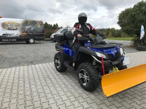 Berühmt Schneeschild ATV Quad Winterdienst Profi Qualität ( Quad ATV ) in &WT_17